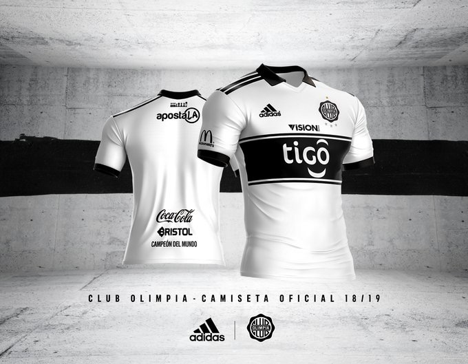 Se lanzó la camiseta oficial 18 19! – Club Olimpia f55a6fe79ba45
