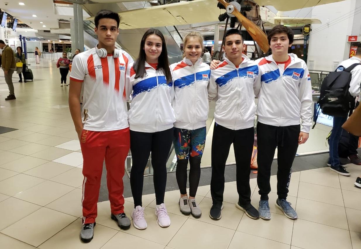 Nadadores de Olimpia al Mundial de Natación de Budapest