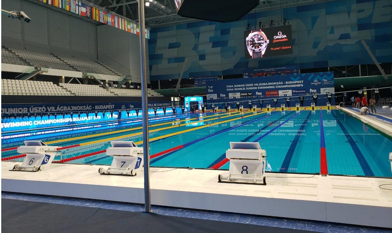 Nadadores de Olimpia ya brillan en Budapest