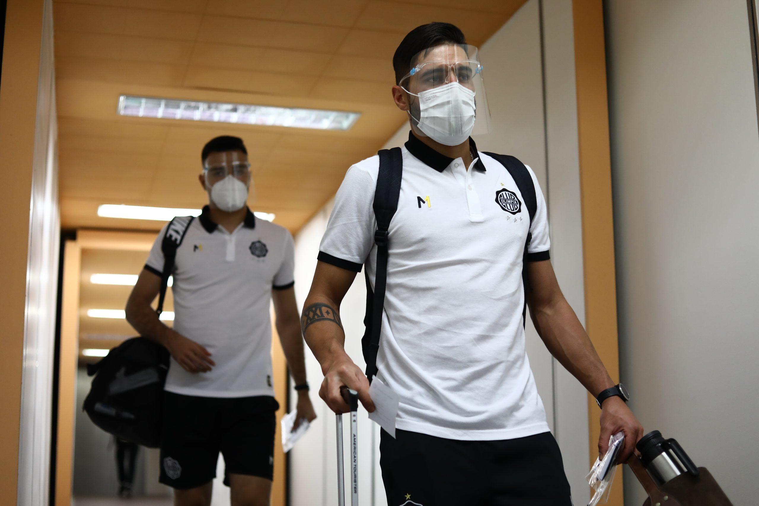 Olimpia chegou ao Paraguai no último domingo. Imagem: Site oficial do Olimpia
